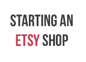 Etsy seller business plan