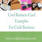 Cool Business Card Examples For Craft Business