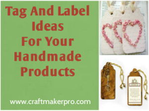 Tag And Label Ideas For Your Handmade Products