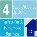 4 Easy Website Options Perfect For A Handmade Business