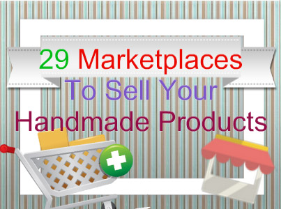 Where can you sell handmade items?