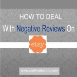 How To Deal With Negative Reviews On Etsy