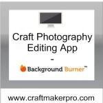 Craft Photography Editing App – Background Burner