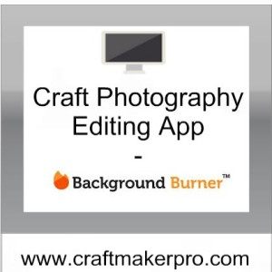 Craft Photography Editing App - Background Burner | Craft ...