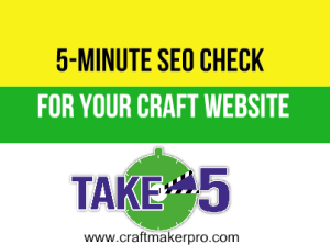 5-Minute SEO Check For Your Craft Website