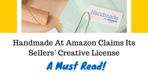 Handmade At Amazon Claims Its Sellers' Creative License
