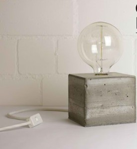 DIY Concrete Lamp (2)