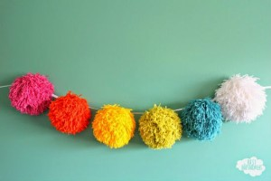 Giant Pom Pom Decor