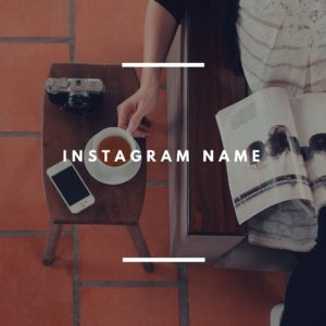 2 Instagram Name