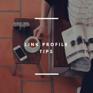 3 Link Profile Tips