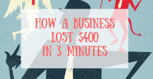 how-a-business-lost-400-in-3-minutes