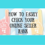 How To Easily Check Your Online Seller Rank