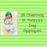 25 Charming St. Patrick's Day Appliqués