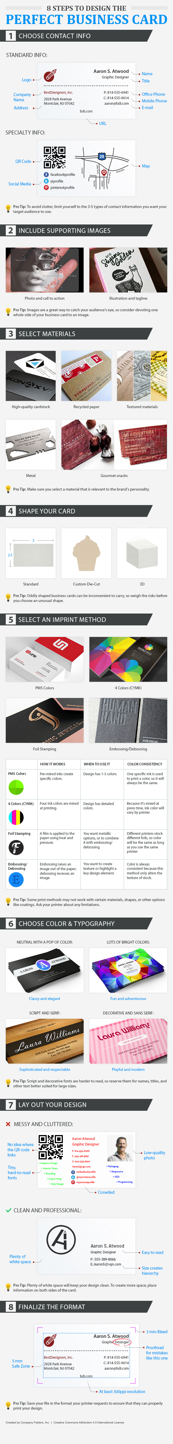 Why You Need A Business Card (And How to Make One) | Craft Maker Pro ...