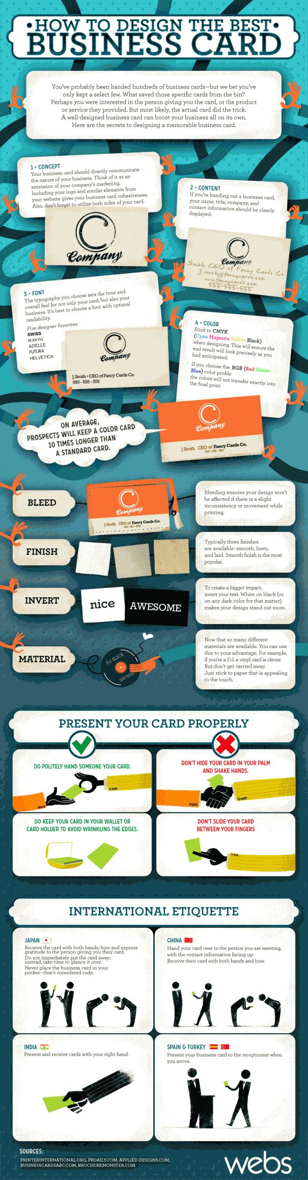 The Ultimate Guide For DIY Business Cards | Craft Maker Pro ...