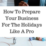 How To Prepare Your Business For The Holidays Like A Pro