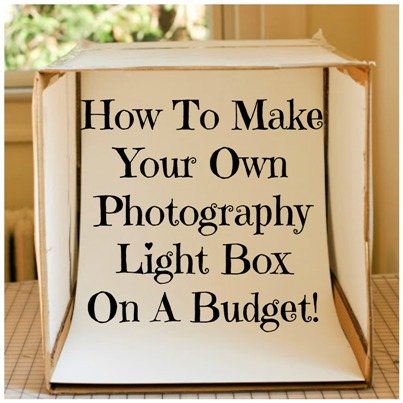 Lightbox Why Not Build Your Own Indoor Photography Studio On A Budget?