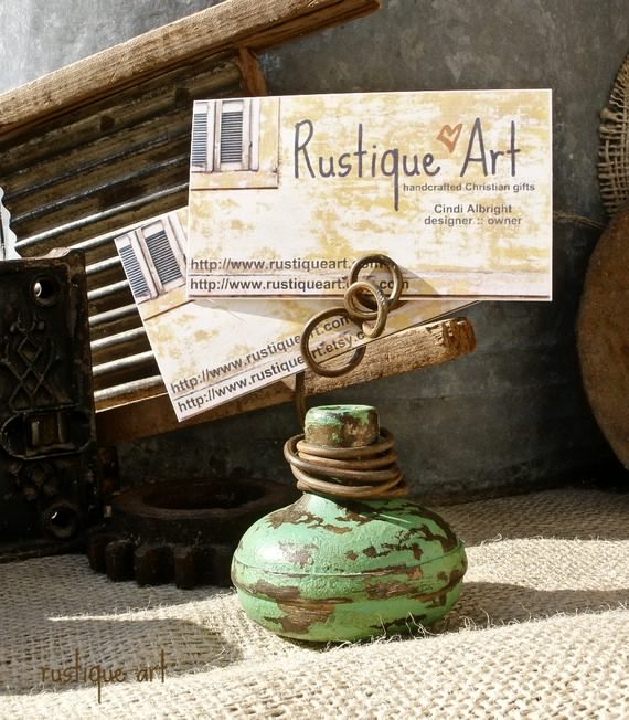 Diy Business Card Holder Ideas For Craft Shows Craft Maker