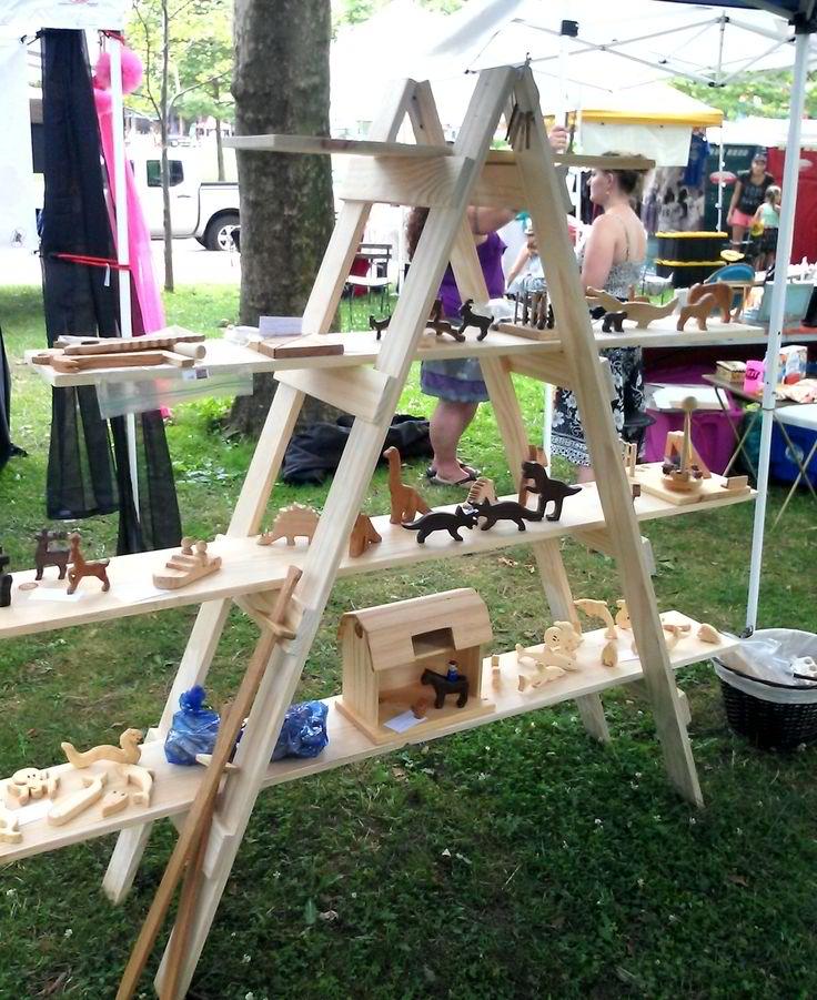 garage sale pricing tips ideas - Great Collection DIY Craft Show Display Tutorials